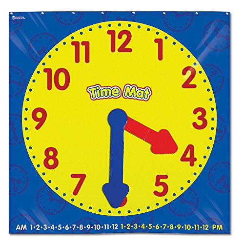 知育玩具 パズル ブロック ラーニングリソース LER2981 Learning Resources Encourage Hands-on Exploration of time with This Activity Floor mat知育玩具 パズル ブロック ラーニングリソース LER2981