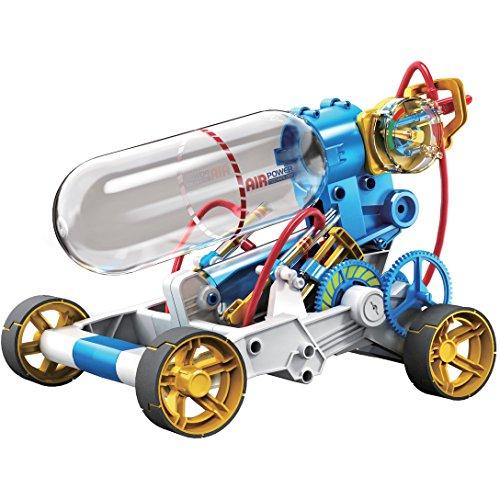 ロボット 知育玩具 パズル ブロック OWI-631 OWI 631 Air Power Racer Kit, Recommended Ages 10+, Fun and Easy to Build, Safety Valve Will Open and Bleed the Air Automatically if the User Keeps Pumping While the Tロボット 知育玩具 パズル ブロック OWI-631