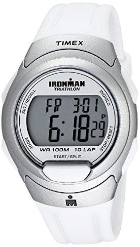 タイメックス 腕時計 メンズ T5K6099J 【送料無料】Timex Men's T5K609 Ironman Traditional 10-Lap White Resin Strap Watchタイメックス 腕時計 メンズ T5K6099J