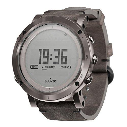スント 腕時計 アウトドア メンズ アウトドアウォッチ特集 SS021216000 【送料無料】SUUNTO SS021216000 Unisex Essential Steel Digital Display Outdoor Watch, Black Leather Band, Roundスント 腕時計 アウトドア メンズ アウトドアウォッチ特集 SS021216000