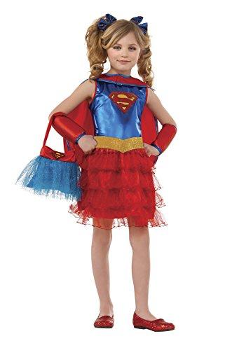 コスプレ衣装 コスチューム スーパーガール 【送料無料】Rubie's Supergirl Tutu Dress Costume with Purse (Medium)コスプレ衣装 コスチューム スーパーガール