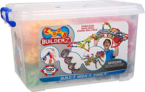 ズーブ 知育玩具 パズル ブロック 0Z11500 ZOOB BuilderZ 500 Piece Kitズーブ 知育玩具 パズル ブロック 0Z11500
