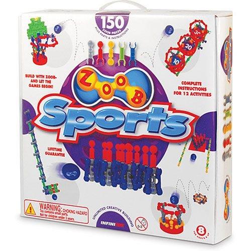 ズーブ 知育玩具 パズル ブロック 0Z11150 ZOOB Sports Modeling Systemズーブ 知育玩具 パズル ブロック 0Z11150