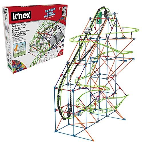 ケネックス 知育玩具 パズル ブロック 51438 K'NEX Typhoon Frenzy Roller Coaster Building Setケネックス 知育玩具 パズル ブロック 51438
