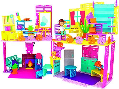 【即納】【送料無料】Roominate ルーミネイト タウンハウス ビルディングキット RM3004-DH 121ピース 知育玩具 6-12歳 女の子