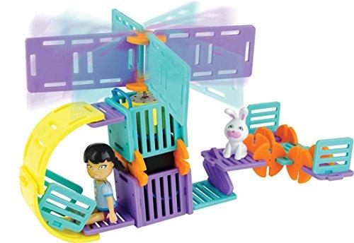 ルーミネイト 知育玩具 パズル ブロック RM3101-DH 【送料無料】Roominate Helicopter, 44 Piecesルーミネイト 知育玩具 パズル ブロック RM3101-DH