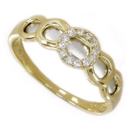 プラチナダイヤリング ダイヤ 0.08ct サークル エタニティリング プラチナ900 Pt900 K18 イエローゴールド 18金 コンビリング 艶消し 指輪 プラチナリング レディース 結婚記念日 結婚指輪 婚約指輪 記念日 結婚記念日プレゼント