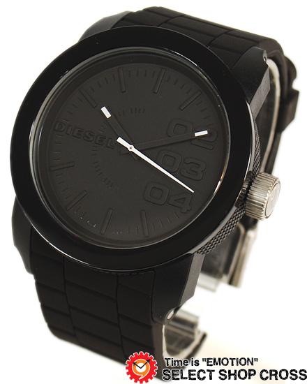 ディーゼル DIESEL メンズ 腕時計 アナログ ウレタンベルト DZ1437 ブラック 黒 【男性用腕時計 時計 リストウォッチ ランキング ブランド 防水 カラフル】 【あす楽】