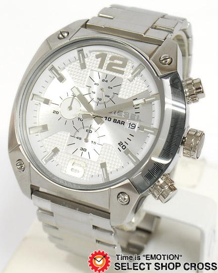 ディーゼル DIESEL メンズ 腕時計 DZ4203 クロノグラフ メタルベルト シルバー 【男性用腕時計 時計 リストウォッチ ランキング ブランド 防水 カラフル】