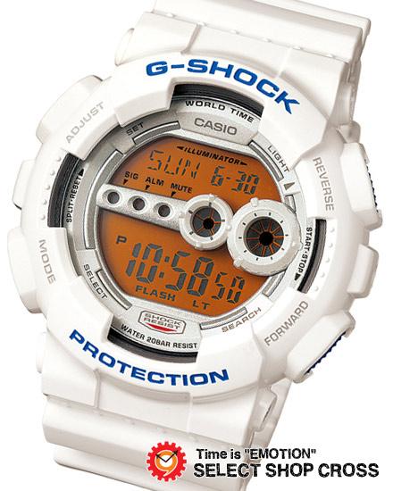 【名入れ対応】 【3年保証】 カシオ Gショック 防水 ジーショック GD-100SC-7DR クレイジーカラーズ CASIO G-SHOCK ホワイト 白