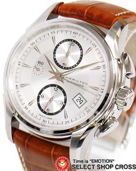 ハミルトン HAMILTON Jazzmaster ジャズマスター メンズ 腕時計 自動巻き アナログ H32616553 シルバー/ブラウン 【男性用腕時計 リストウォッチ ランキング ブランド 防水 カラフル】