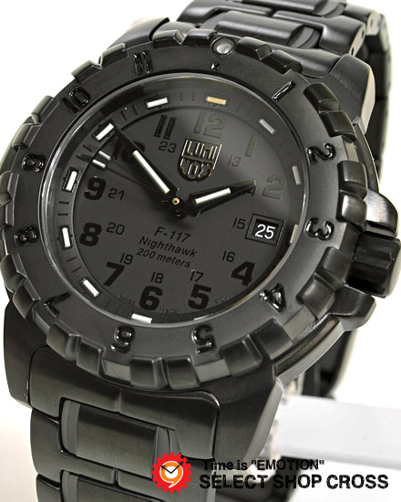 ルミノックス LUMINOX メンズ 腕時計 F-117 NIGHTHAWK EVOLUTION ブラックアウト 海外限定モデル 6402-Blackout 黒