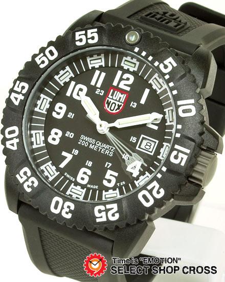 ルミノックス LUMINOX 腕時計 メンズ NAVY SEALS カラーマーク T25表記3051 ホワイト 白 【あす楽】