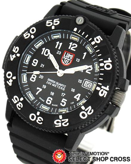 ルミノックス LUMINOX メンズ 腕時計 3001 T25表記 ブラック 黒 NAVY SEALS DIVE WATCH ORIGINAL SERIES1 ネイビーシール ダイブ 腕時計 シリーズ 【あす楽】