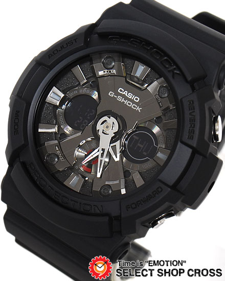 【名入れ対応】 【100%本物保証】 【3年保証】 カシオ CASIO G-SHOCK Gショック 防水 ジーショック メンズ 腕時計 アナデジ 海外モデル GA-201-1ADR ブラック 黒