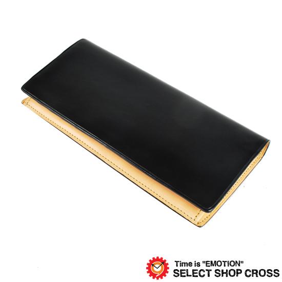 IL Bussetto イルブセット メンズ 長札/長財布 ロングウォレット 11-011 Black ブラック 正規品