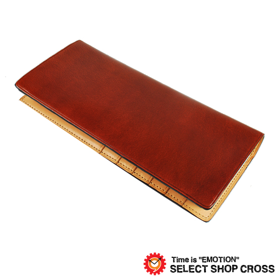 IL Bussetto イルブセット メンズ 長札/長財布 ロングウォレット 11-011 Brown ブラウン 正規品