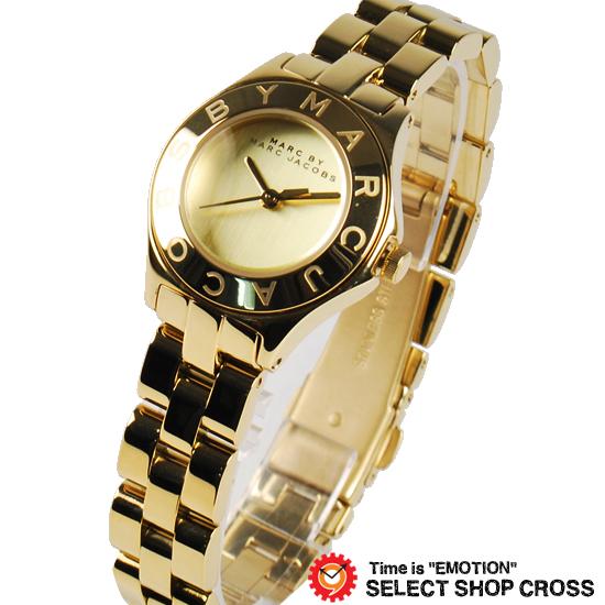 マーク バイ マークジェイコブス レディース 腕時計 ブランド アナログ New Blade Small ニュー ブレード スモール MBM3131 ゴールド 【あす楽】