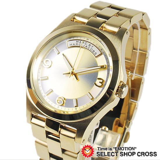 マーク バイ マークジェイコブス レディース 腕時計 ブランド Baby Dave ベイビーデイブ MBM3231 イエローゴールド(ホログラフィック) 【あす楽】