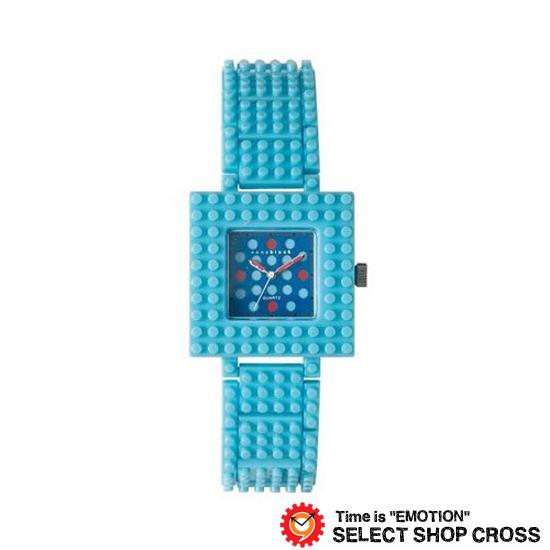 ナノブロック NANO BLOCK メンズ レディース ユニセックス デコレーション クオーツ 腕時計 ブランド naw-3410brr ブルー 【着後レビューを書いて1000円OFFクーポンGET】