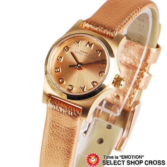 マーク バイ マークジェイコブス ローズゴールド腕時計 ブランド レディース Henry Dinky ヘンリー ディンキー ピンクゴールド/メタリックピンクゴールド MBM1298 【あす楽】
