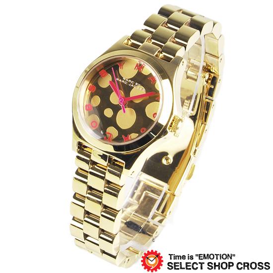 マーク バイ マークジェイコブス 腕時計 ブランド レディース ヘンリー グロッシー ポップ スモールサイズ ゴールド×ピンク MBM3270 【あす楽】
