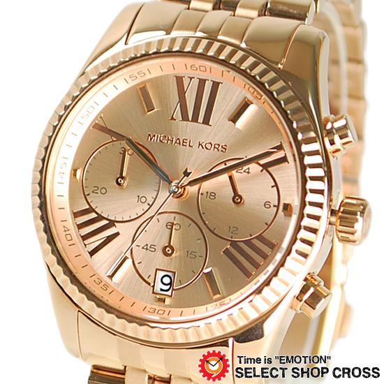 マイケルコース MICHAEL KORS Lexington Chronograph 腕時計 ブランド レディース レキシントン クロノグラフ ピンクゴールド MK5569