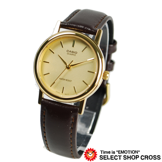 【名入れ対応】 カシオ CASIO 腕時計 ブランド アナログ ベーシック メンズ レディース キッズ 子供 ユニセックス MTP-1095Q-9A ゴールド/ブラウン チプカシ チープカシオ 【あす楽】