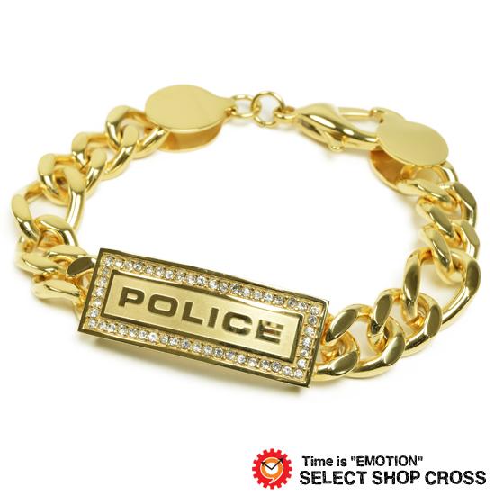 POLICE ポリス アクセサリー ブレスレット LOWRIGER ゴールド 25144BSG01