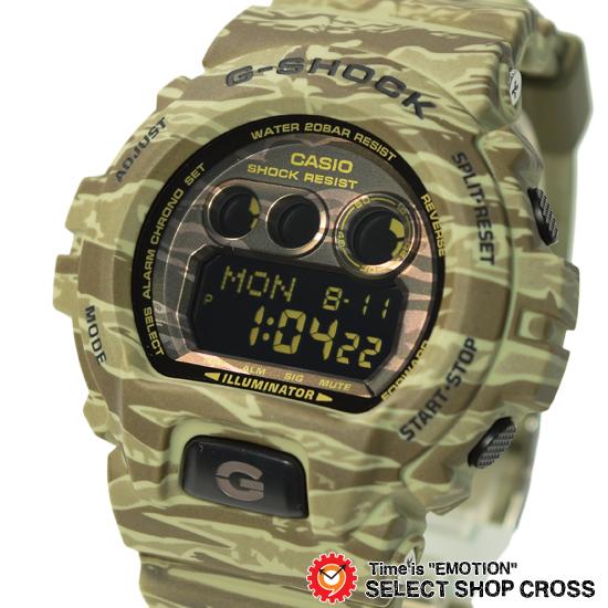 【名入れ対応】 【100%本物保証】 【3年保証】 Gショック 防水 ジーショック カシオ G-SHOCK CASIO メンズ 腕時計 デジタル 迷彩柄 カモフラージュ柄 GD-X6900CM-5DR 海外モデル