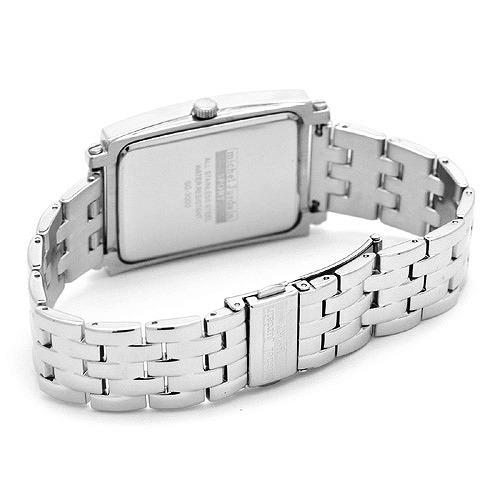 MICHEL JURDAIN SPORT ミッシェル ジョルダンスポーツ メンズ 腕時計 ダイヤモンド入 SG-3000-5B ホワイトネイビー×シルバーメタルベルト 【着後レビューを書いて1000円OFFクーポンGET】