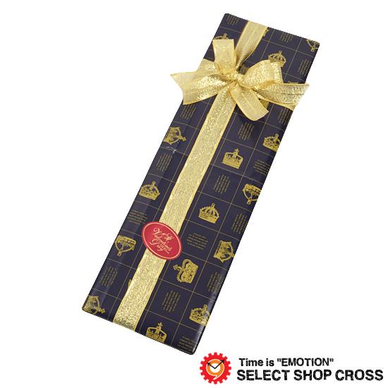 カジュアルからビジネスシーンまで使える時計 財布 バッグ 筆記具を多数ご用意しております プレゼント選びに是非ご覧ください クリスマス 誕生日 記念日 毎日がバーゲンセール バレンタイン ホワイトデー ラッピングのみの購入不可 至上 ※当店他商品をお買い上げのお客様限定販売 ネクタイ対応 男性 誕生日プレゼント yg-vatie-bkcw600 ギフトラッピング ブラッククラウン柄包装紙 ネクタイ 用
