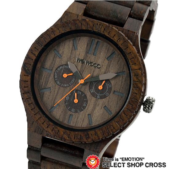 WEWOOD ウィーウッド 正規品 KAPPA CHOCOLATE カッパ チョコレート NATURAL WOOD ナチュラルウッド ハンドメイド 木製腕時計 9818028
