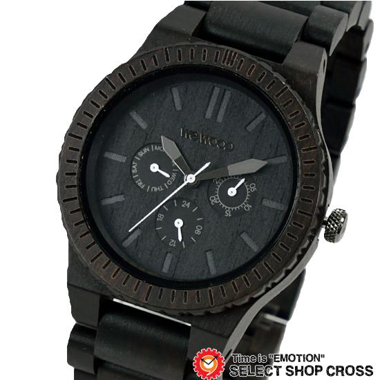 WEWOOD ウィーウッド 正規品 KAPPA BLACK カッパ ブラック NATURAL WOOD ナチュラルウッド ハンドメイド 木製腕時計 9818029