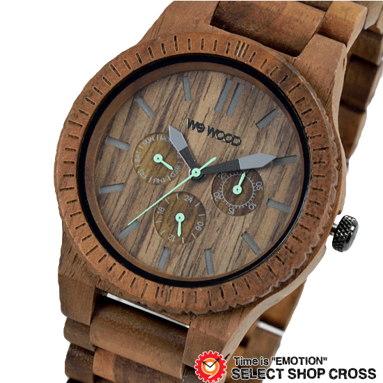 WEWOOD ウィーウッド 正規品 KAPPA NUT カッパ ナット NATURAL WOOD ナチュラルウッド ハンドメイド 木製腕時計 9818030 【あす楽】