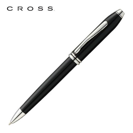CROSS クロス 筆記用具 ボールペン タウンゼント ブラックラッカー ロジウムプレート AT0042TW-4 正規品