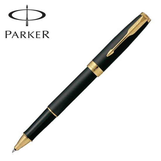 パーカー 筆記用具 ローラーボール ソネット マットブラックGT 1950878 正規品 名入れ