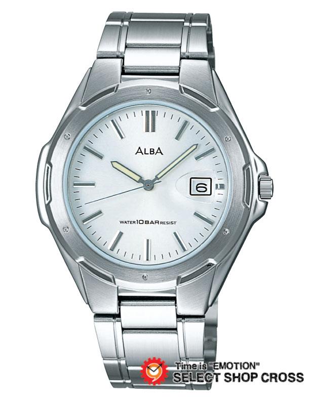 【3年保証】 セイコー SEIKO アルバ ALBA アンジェーヌ ingenu クオーツ QUARTZ クオーツ メンズ 腕時計 apbx209 ホワイト 白×シルバー 正規品