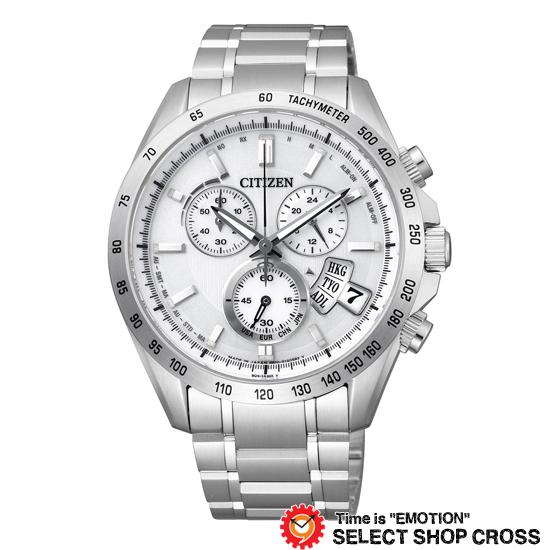 CITIZEN シチズン 腕時計 電波時計 シチズンコレクション エコ・ドライブ電波 パーフェックスマルチ3000 シルバー×シルバー BY0130-51A