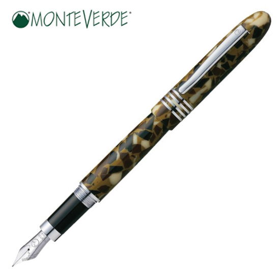 モンテベルデ MONTEVERDE 筆記用具 万年筆 マウンテン・オブ・ザ・ワールド・コレクション キリマンジャロ 1919485 正規品 名入れ