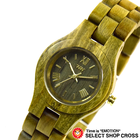 WEWOOD ウィーウッド 正規品 CRISS ARMY クリス アーミー NATURAL WOOD ナチュラルウッド ハンドメイド 木製腕時計 9818033 【あす楽】
