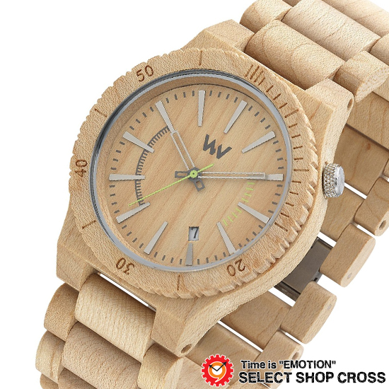 WEWOOD ウィーウッド 正規品 ASSUNT BEIGE アサント ベージュ NATURAL WOOD ナチュラルウッド ハンドメイド 木製腕時計 9818049