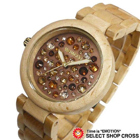 WEWOOD ウィーウッド 正規品 ALNUS BEIGE TOPAZ アルナス×ベージュ×トパーズ NATURAL WOOD ナチュラルウッド ハンドメイド 木製腕時計 9818084