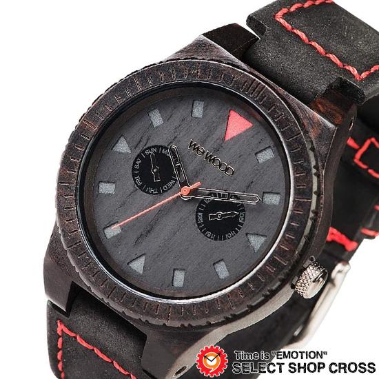 WEWOOD ウィーウッド 正規品 LEO TERRA BLACK レオ テッラ ブラック NATURAL WOOD ナチュラルウッド ハンドメイド 木製腕時計 9818094