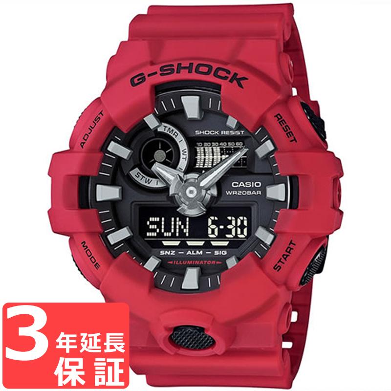 b1faf25849 CASIOカシオG-SHOCKジーショッククオーツメンズ腕時計GA-700-4AJF国内