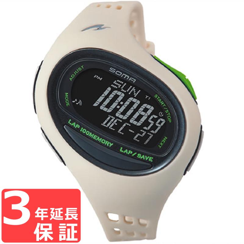 SOMA ソーマ RunONE 100SL ランワン 100SL クオーツ 腕時計 NS08008