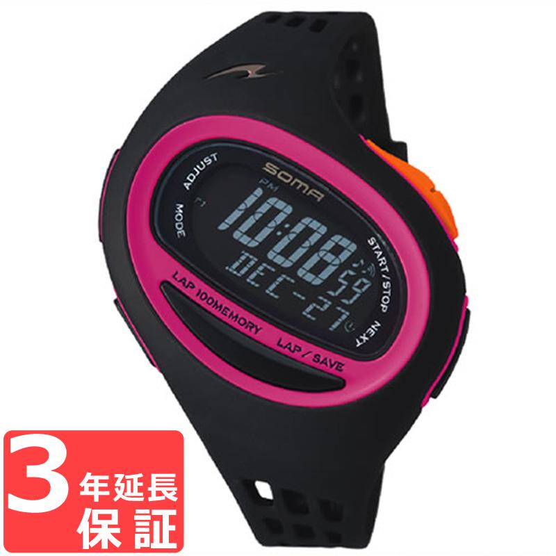 SOMA ソーマ RunONE 100SL ランワン 100SL クオーツ レディース 腕時計 ブランド NS09008
