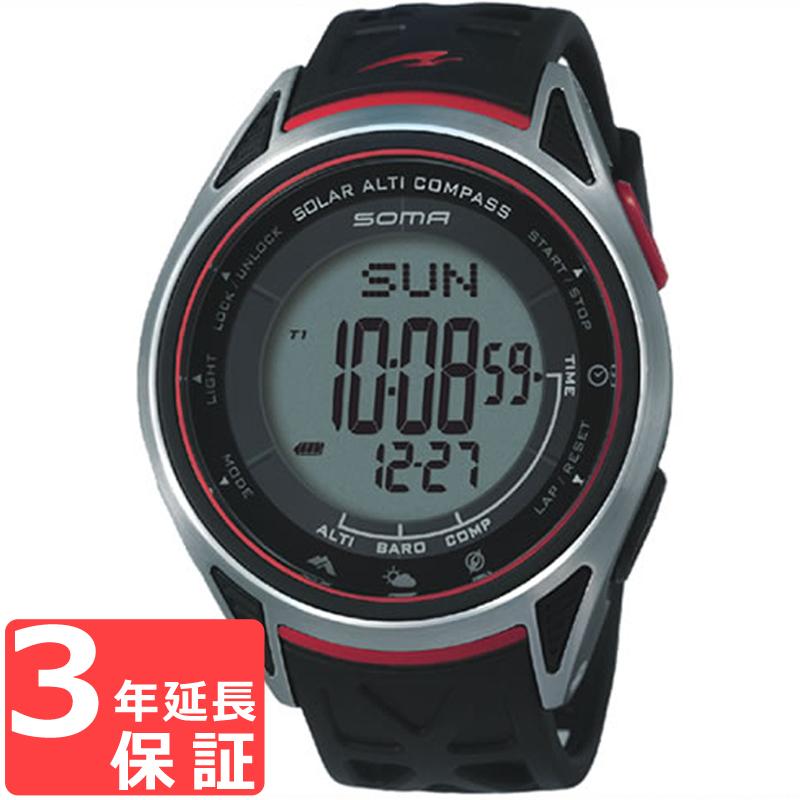 SOMA ソーマ Ride One ライドワン ソーラー 腕時計 NS24001