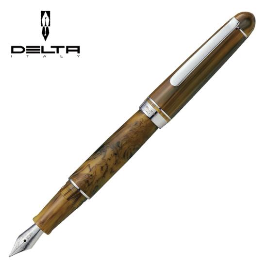 DELTA デルタ 筆記用具 万年筆 ヴィルトゥオーサ ダークホーン 1910133 正規品 名入れ