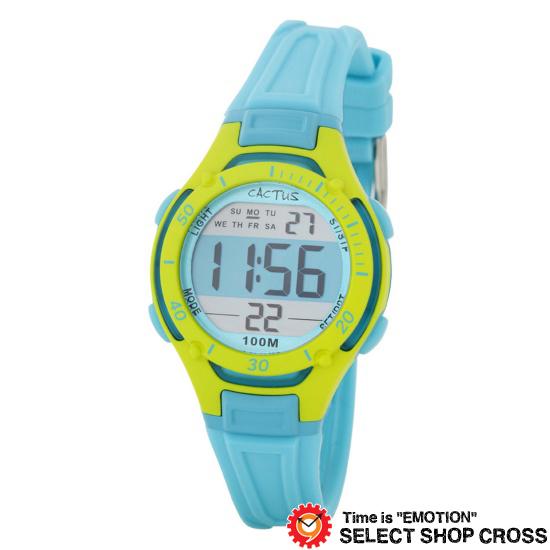 カクタス CACTUS キッズ 腕時計 デジタル 10気圧防水 ボーイズ CAC-82-M04 【着後レビューを書いて1000円OFFクーポンGET】